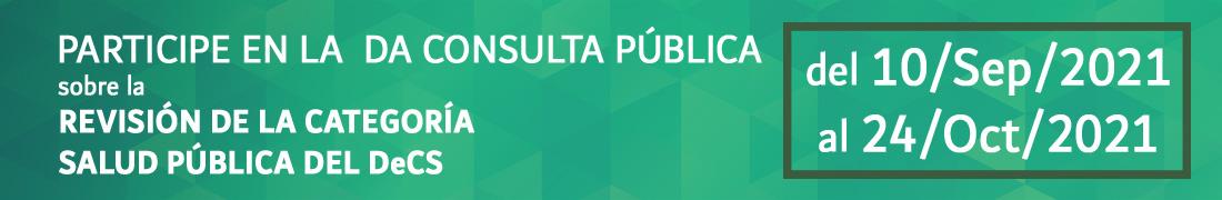Banner consulta publica