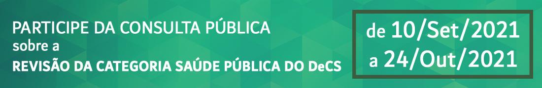 Banner Consulta pública